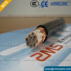 Copper conductor Aluminum Foil Shield LSZH Insulation Fire Alarm Cable