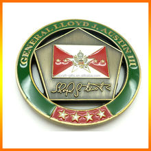 Engraved 2014 New Style For Custom Metal Collectible Coins