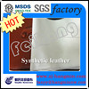 Spunlace Nonwoven backing microfiber leather fabric for sofa car bed sheet