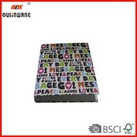 wholesales cardboard file folder with 3-hole ring clips