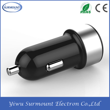 Promotional 2 port 5V3.4A custom colors dual USB Car charger for mobile&tablet with USB charger