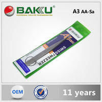 Baku Hot Design Flush Cutter Stainless Tweezer Function For Cell Phone