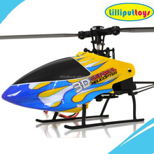 2015 Hot Selling 6050 Mini 2.4G 3D 6CH RC Helicopter with MEMS Gyro