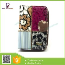 Colorful Lady Wallet Money Bag, Leather Wallet Bag, Women's Small Wallet