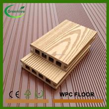 Modern wood plastic floor for basketball court