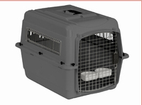 Small sized pet transport crate carrier