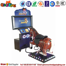 Qingfeng coin operated amusement machine horse racing arcade game
