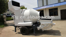 concrete mixing pump with batch