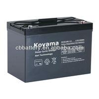 Deep Cycle Gel Batteries 12V100AH