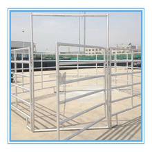 Heavy duty galvanized steel oval rails cattle panels(horse panel) hot sale products