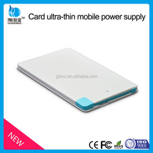 2500mAh Mini Slim power bank rechargeable battery power bank from 11 years factory