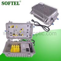 CATV outdoor 2 way rf power amplifier with waterproof housing | tv rf amplifier