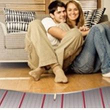 pvc washing room heating mat & bathroom floor heating system