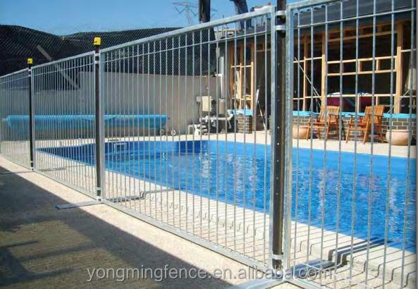 Galvanized retractable swimming pool fencing buy