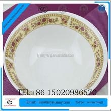 2015 newly developed design ceramic soup bowl