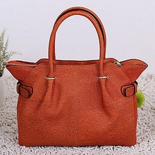 Genuine leather bag ladies cow leather handbags trendy fashion bag export from China EMG4044