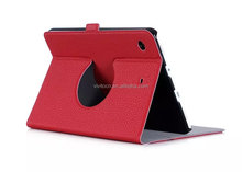 Ultra slim leather tablet case 360 degree rotate for ipad mini4 case