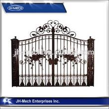 personalizzati per esterni cancello in ferro battuto decorativo