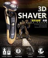 Adjustable Electric Shaver Rotating 360 Degree Waterproof Razor 3D Men Beard Trimmer