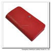 12060 Red color faux leather wallet for women