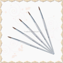fengshangmei silver wood nail brush for kolinsky