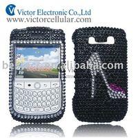 Diamond crystal case for blackberry bold 9000