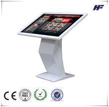 """55 """" Super populaire écran tactile kiosque d'information conception"""