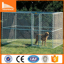 Hot sale cheap Metal Galvanized chain link Large Welded Dog Kennel Runs for dog direct factory