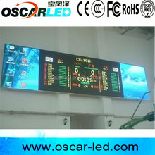 Indoor video full color led display/indoor basketball score board