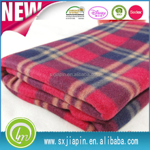 Best quality hot selling fleece blanket folded pillow
