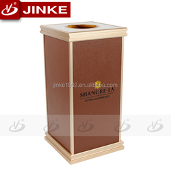 Aluminium High Quality Customized Hotel Community Waste Recycling Box, Refuse Collector Box For Wholesale