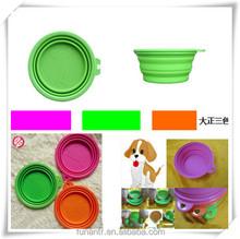 Silicone + ABS Pet Bowl, Folding Bowl (HA53002)