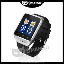 2014 Fashion style bluetooth FM radio gps system watch android smart phone