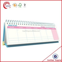 Customized stand up calendar wholesale in shanghai