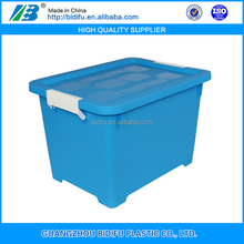 colorful plastic storage box with interlock lid clear plastic lockable storage box