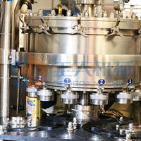 carbonated drink canning line