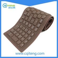 Factory Silicone Waterproof Flexible Wireless Bluetooth Keyboard