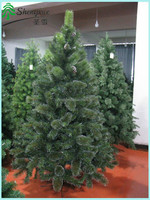 Hot Sale Artificial Pine needle christmas tree With Pine Cone