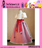 2015 factory direct short sleeve long party dress high quality boutique shop cheaper little kids evening dress