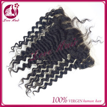 high level lace frontal hair extension with closure piece hypostatic deep wave black hair reasonable price brazilian lacefrontal