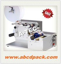 hot sale semi-auto wrap round different bottle labeling machine