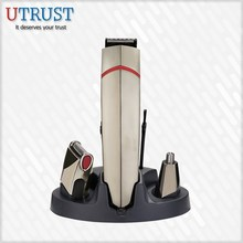 2015 Grooming Scissor With Razor Edge rechargeable hair clipper set with shaver and nose trimmer