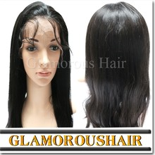 Brazilian Virgin Human Hair Swiss Lace Wig Front Lace Wig Glueless Lace Frontal Wig