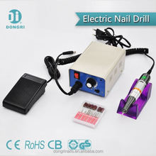 electric pen-shape nail drill with 6 bit acrylic uv gel