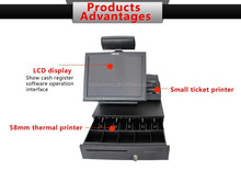 cheap touch screen pos terminal barcode scanner with display