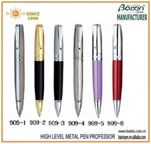2015 Factory wholesale metal business promotional custom logo fat pen 907