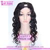 Hot Sale 100% Virgin Malaysian Human Hair Cheap U Part Wig With Bangs