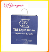 Customized Decorative Handmade Paper Gift Bags