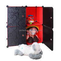 modern stackable portable 4 storage cubes deepen size easy to install(YK-1031)