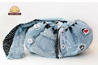 Fashion dog denim carrier/pet sling(OEM)